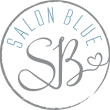 SALON BLUE circle logo silver&blue v3