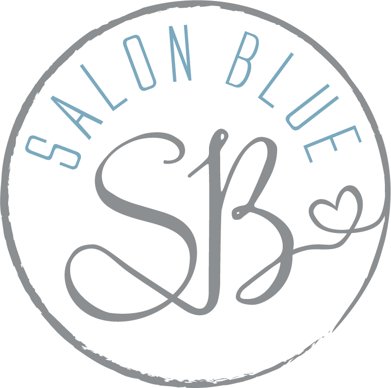 SALON BLUE circle logo silver&blue v3